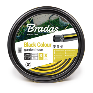 "BLACK COLOUR 1/2"" 50m"